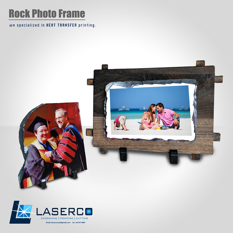 Rock Photo Frame