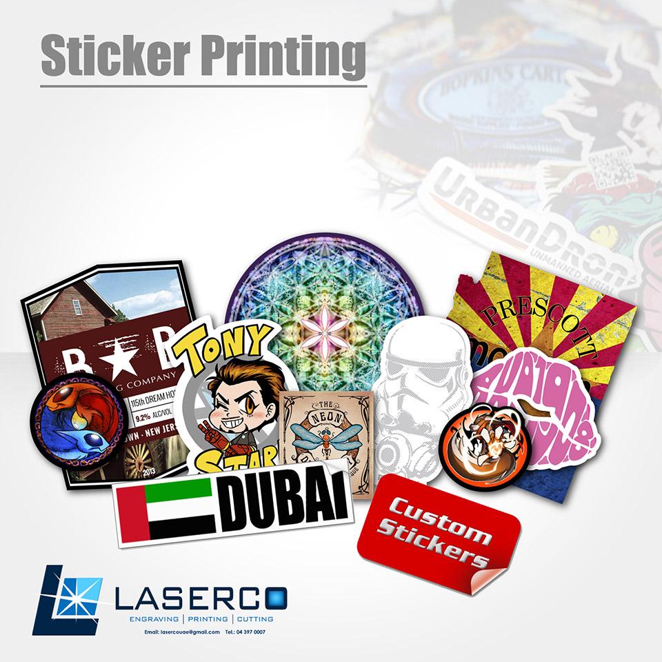 Sticker custom sticker printing